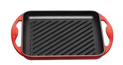 Le Creuset Grill Quadrata 24cm, colore: Rosso
