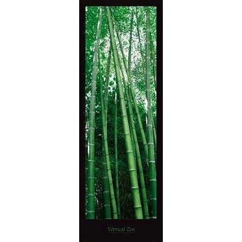 Impresión de Arte Fino en lienzo : Vertical Zen by Plisson Guillaume - Grande (79 x 229 Cms)