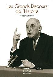 Petit Livre de - Grands Discours de l'Histoire