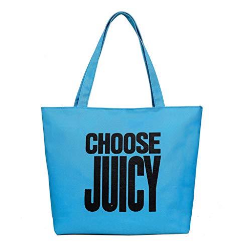 Damen Umhängetasche Shoulder Bag Handtasche Schultertasche Satchel Schulter handbag Rucksack,Mode Frauen Brief Leinwand Candy Farbe Griff Taschen - Chart Leinwand Arbeit