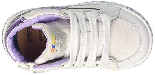 Geox - B62D5E01085C0761 - Chaussures De Marche Pour Bébé Bianco (White/Lilac)