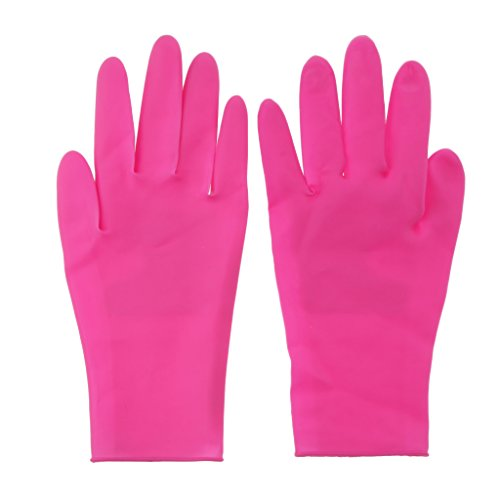 Homyl Professionale Salon Silikon Handschuhe Arbeitshandschuhe, Hitzebeständige Schutzhandschuhe, Professional Haarglätter Zubehör Für Haarstyling, Lockenstäbe Und Glätteisen