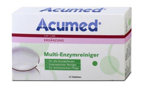 Acumed 1251 Multi-Enzymreiniger (Für Kochsalzlösung Kontaktlinsen-lösung)