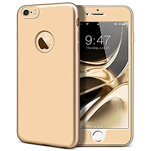Yokata Coque iPhone 6S Plus, iPhone 6 Plus (5.5 pouces), Etui iPhone 6S Plus Avant + Arrière Housse de Protection Étui Silicone Souple Doux Soft Case avec Absorption de Choc Bumper en TPU Gel Ultra Mince Slim Cover -