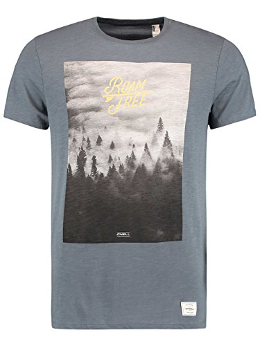 Herren T-Shirt O'Neill Wildlife T-Shirt Dark Slate
