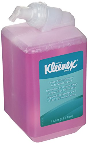 KIMBERLY-CLARK 91552 1000ml Kleenex Luxury Foam Skin Cleanser With Moisturizers