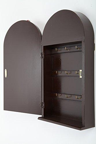 point-home Schlüsselkasten Schlüsselschrank Schlüsselbox Retro-Design Holz - 4