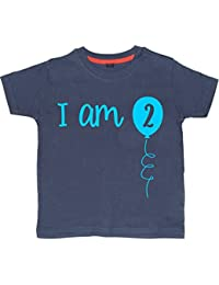Edward Sinclair I Am Two Boy's 2nd Birthday T-Shirt 2-3 Years
