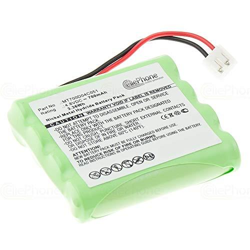 cellePhone Akku NI-MH kompatibel mit Philips SBC-EB4870 E2005 / SBC-EB4880 (Ersatz für MT700D04C051)