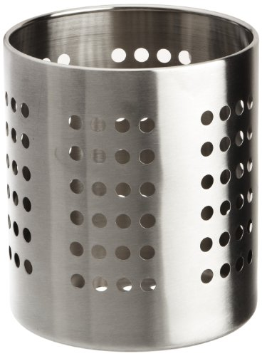 Zeller 27340 Kitchen Utensil Holder 12 x 13 cm Stainless Steel
