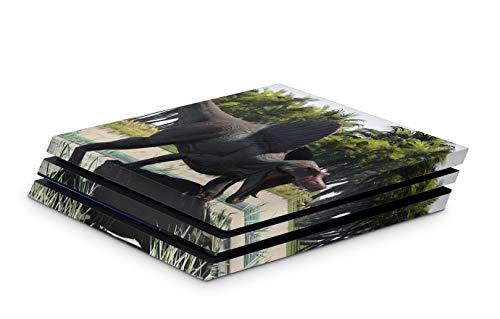 Playstation 4 Pro Skin Design Sticker PS4 Pro Aufkleber - Dinosaurier