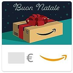 Idea Regalo - Buono Regalo Amazon.it - Digitale - Pacco Amazon di Natale