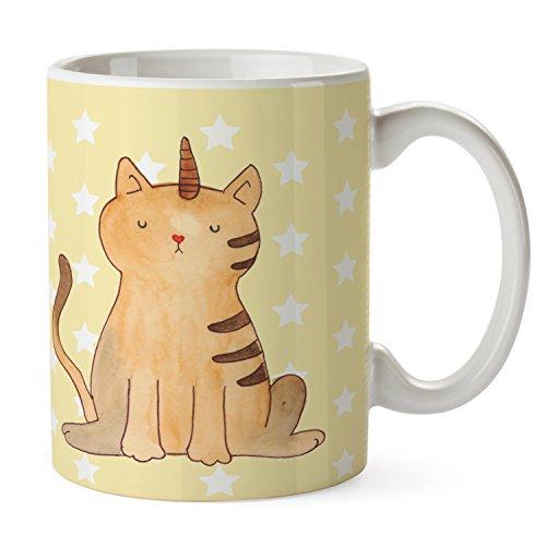 Mr. & Mrs. Panda Variante Tasses Licorne Chat OT Jaune pastel