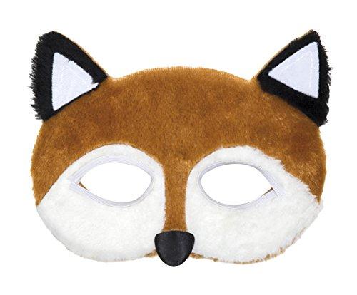 Zauberer Kostüm Mickey (erdbeerclown- Kostüm Halbmaske Fuchs Gesicht,)