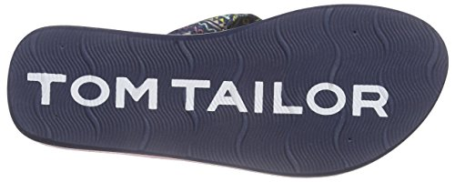 Tom Tailor 9670407, Tongs fille Bleu