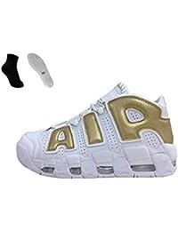 sale retailer afdff 4d4c6 Air More  96 QS Uomo Scarpe da Ginnastica Donna Corsa Sportive Running  Fitness Mesh Traspirante
