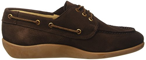 Sebago Gary Jobson Suede Men, Mocassins Homme Marrone (Dark Brown)