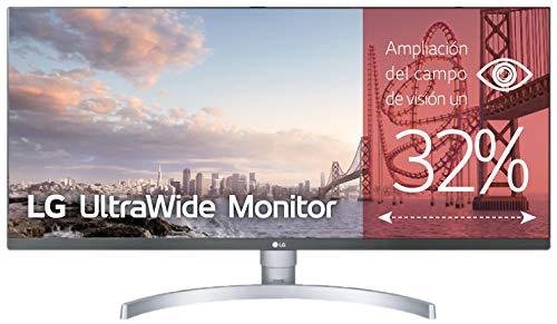 LG 34WK650-W - Monitor Profesional UltraWide FHD 86,6