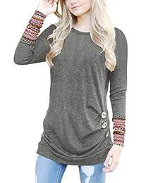 Amazon.es  sueter mujer - Camisetas f65e3a93b189