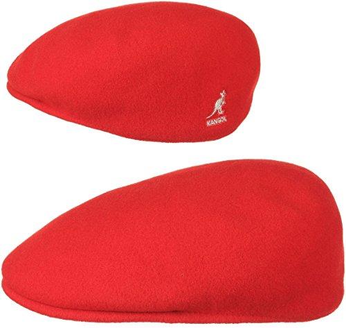 Mütze Schirmmütze Flatcap Original 504 | Schlägermütze mit Kultstatus 0258BC Schirmmütze Mütze (M/56-57 - rot) ()