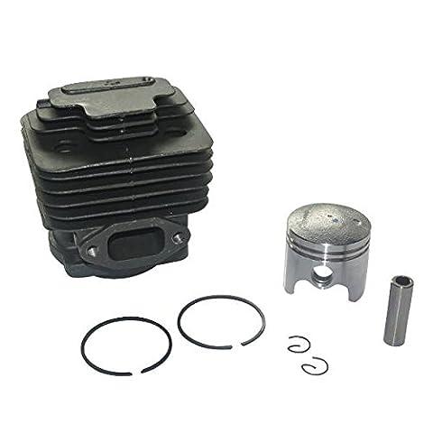 Générique Cylindre & Piston Segments Kit pour Mitsubishi TL43 Engine 40mm w/10mm Pin Tondeuse