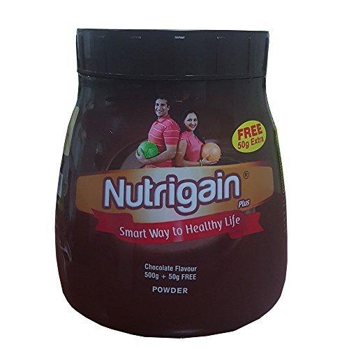 Ayurwin Nutrigain Plus Chocolate Flavour - 500 g + Free 50g Extra
