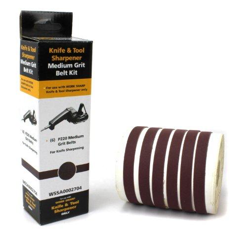 Work Sharp Schärfband-Sortiment 220 Schärfgerät Braun, 09DX012