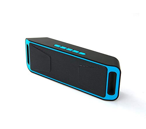 Qualimate Stark Wireless Portable Bluetooth Speaker with HD Audio and Enhanced Bass | Hands-Free Calling