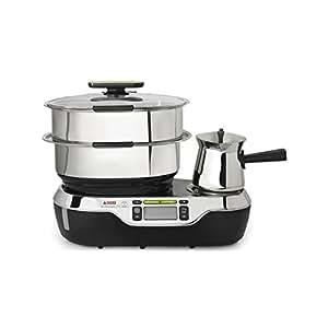 Seb vp802800 cuiseur vapeur 2 panier 1900w saucier vitacuisine sauce a - Cuiseur vapeur industriel ...