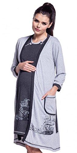zeta-ville-premama-camison-y-bata-set-embarazo-y-lactancia-para-mujer-379c-grafito-eu-40-m