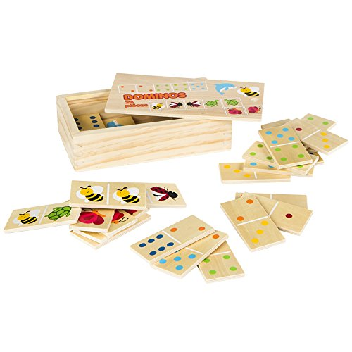 Unbekannt Colorbaby–Domino Holz 28Teile (42147)