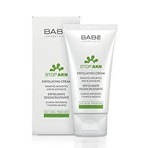Laboratorios Babé – Stop AKN Exfoliante Facial Desincrustante 50 ml, Absorbente, Ácido Salicílico, Matificante, Peeling…