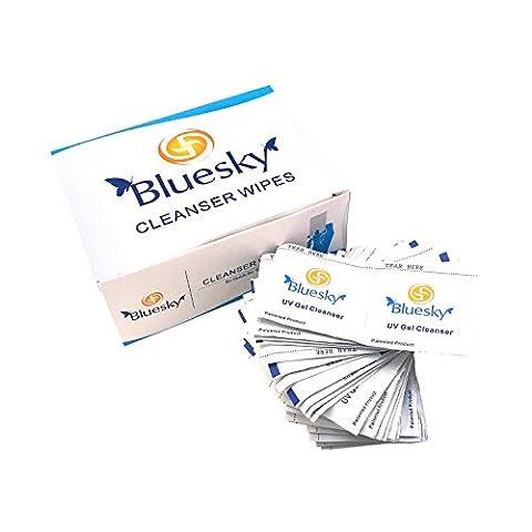 Bluesky UV Gel Cleansing Wipes - Pack of