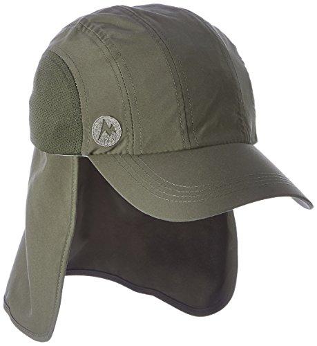 marmot-simpson-convert-hiking-cap-mutze-deep-olive-cinder-one-size