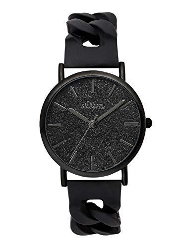 S.Oliver Time Unisex Erwachsene Armbanduhr SO-3399-PQ