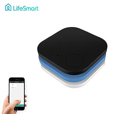 Inovey Mutilfunction Mini Bluetooth 4.0 Smart Tracker Key Finder Anti Lost Unterstützung Für Ios Und Android -White
