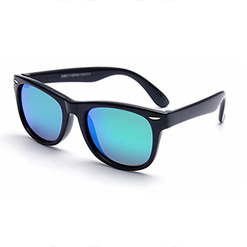 sunglasses Girls Boys Classic Mirror Aviator Polarized Sunglasses for Childrens | 100% UV400 | Age 3-12