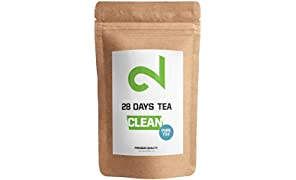 DUAL 28 Days Detox Tea for Weight Loss | Slimming and Cleanse Tea | Diet and Fat Loss Tea | 85g Loose Leaf Tea | Natural Dietary Supplement | Made In Germany | Traditional Active Complex