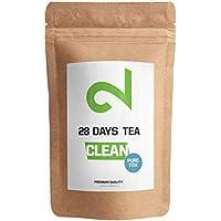 ��DUAL CLEAN-28 Días PureTox Tea   Infusión Para Mujeres y Hombres   Complejo Activo de Hierbas  Té de Hoja Suelta 85g   Té 100% Natural Sin Aditivos   Vegano & Sin Gluten   Hecho en Alemania