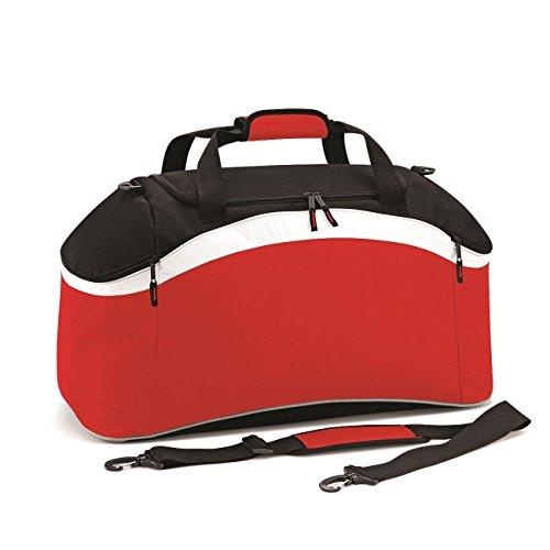 BagBase Teamwear Holdall 1er Pack Classic Red/Black/White
