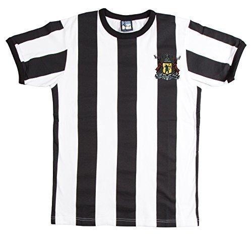 Retro Notts County Striped 1960s 70s Football T Shirt New Sizes S-XXL  M