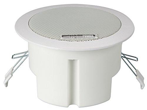 """Sound Products 147075 Velleman 4"""" Deckenlautsprecher Breitband, Runde Ausführung, 100 V, 8Ohm, 135 mm Durchmesser x 81 mm Höhe"""