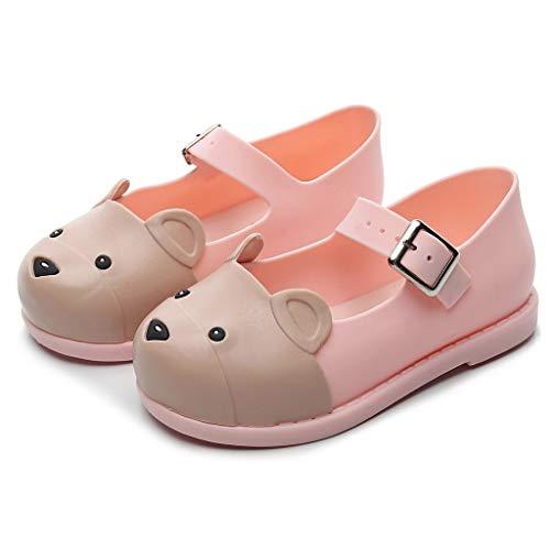 nten Bequeme weiche wasserdichte Rutschfeste Sandalen Schuhe,Kleinkind Kleinkind Kinder Baby Mädchen Jungen tragen Cartoon Flache einzelne Freizeitschuhe ()