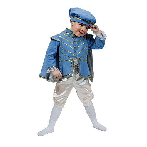 Kostümplanet® Prinzen-Kostüm Kleiner Prinz für Kinder Prinzen-Kostüm Jungen Prinz-Kostüm Größe 116 (Ein Prinzen Kostüm)