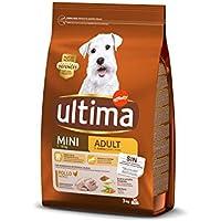 ULTIMA alimento para perros mini adultos rico en pollo bolsa 3 Kg
