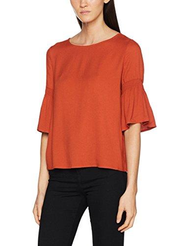 ESPRIT Damen 087EE1F003 Bluse, Mehrfarbig (Terracotta 805S), 36 -