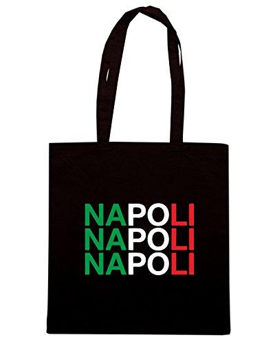 T-Shirtshock - Borsa Shopping WC0503 NAPOLI Nero