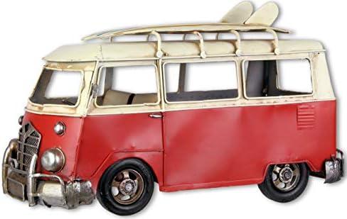 Bus décoratif avec Planche Planche Planche de Surf Style Vintage 40,4 cm | Aspect Attrayant  6501d8