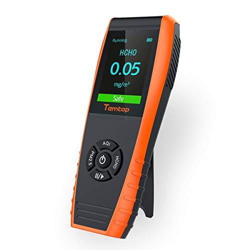 Temtop LKC-1000E Monitor Profesional del Detector de Calidad del Aire, con Pruebas Precisas PM2.5 ...