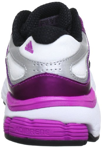 adidas Questar Stability W G64610 Damen Laufschuhe Mehrfarbig (Black 1 / Metallic Silver / Vivid Pink S13)